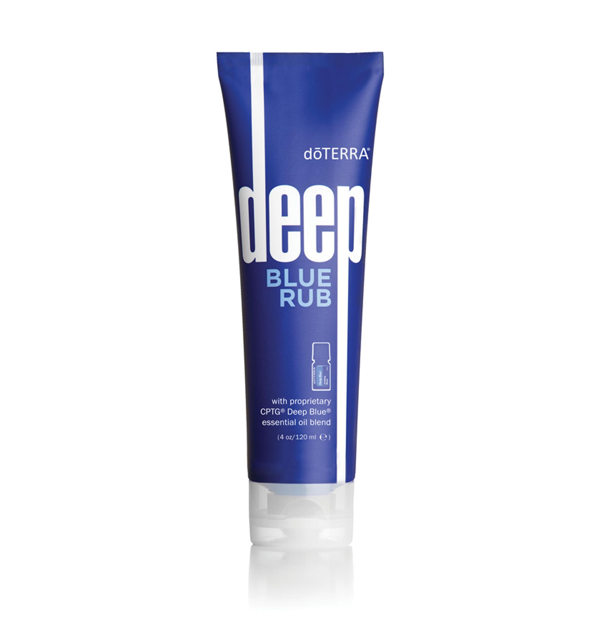 Deep Blue Rub - masážny krém